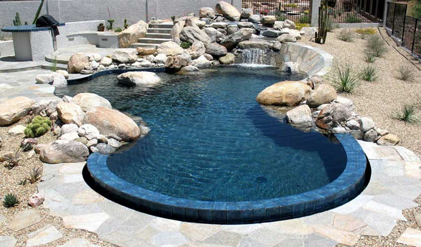 Building ideas arizona backyard landscaping pictures quotes for Natural pools arizona