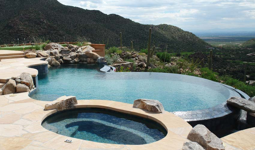 Vanishing Edge Pools - Cimarron Circle Construction Company