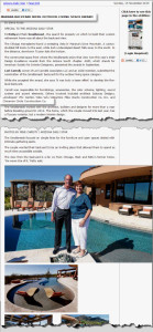 Article in Arizona Star about Award Winning Backyard Design