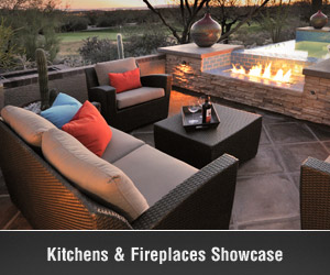Tucson Outdoor Kitchens, Fireplaces and Patios