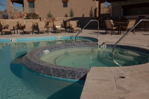 Pool and Spa built by Cimarron Circle for Hacienda del Sol Resort in Tucson