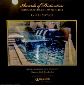 Gold Award Pool Renovations 2013